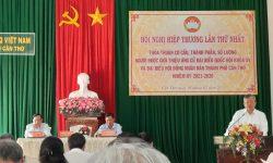 Hội nghị hiệp thương lần thứ nhất – UBMTTQVN TPCT