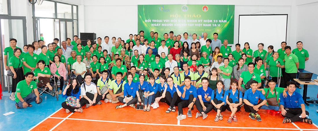 Hội thảo Đối thoại với hội viên nhân kỷ niệm 23 năm ngày Người Khuyết Tật Việt Nam 18/4/2021